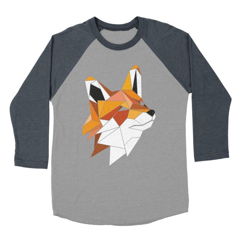Faux Renard Men's Baseball Triblend T-Shirt by ayarti's Artist Shop