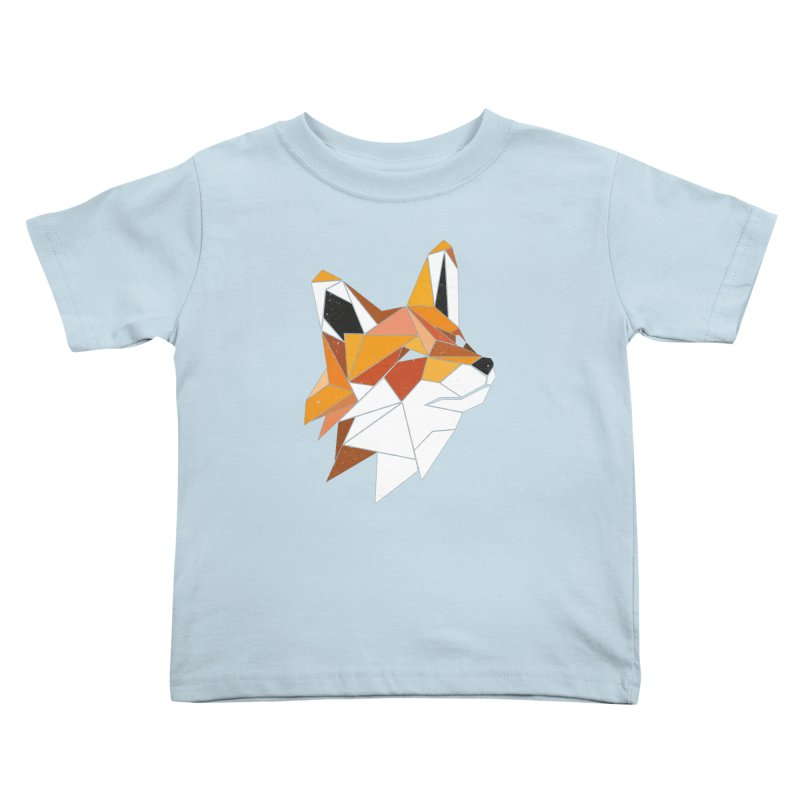 Faux Renard Kids Toddler T-Shirt by ayarti's Artist Shop