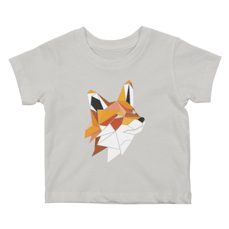 Faux Renard Kids Baby T-Shirt by ayarti's Artist Shop
