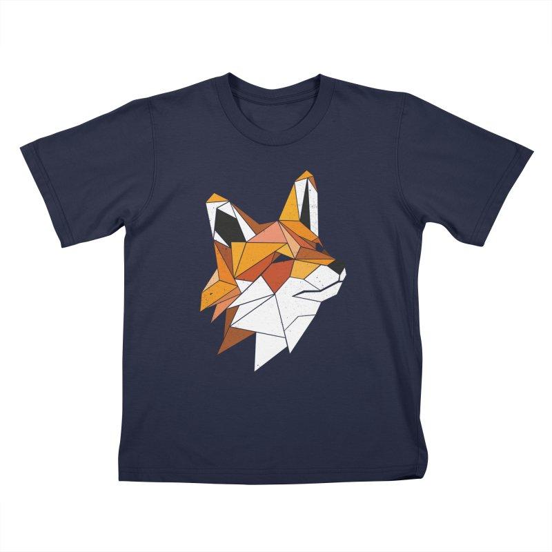 Faux Renard Kids T-Shirt by ayarti's Artist Shop