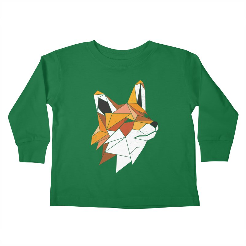 Faux Renard Kids Toddler Longsleeve T-Shirt by ayarti's Artist Shop