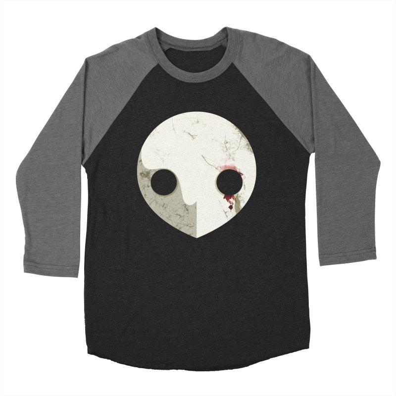 Angel Men's Baseball Triblend T-Shirt by ayarti's Artist Shop