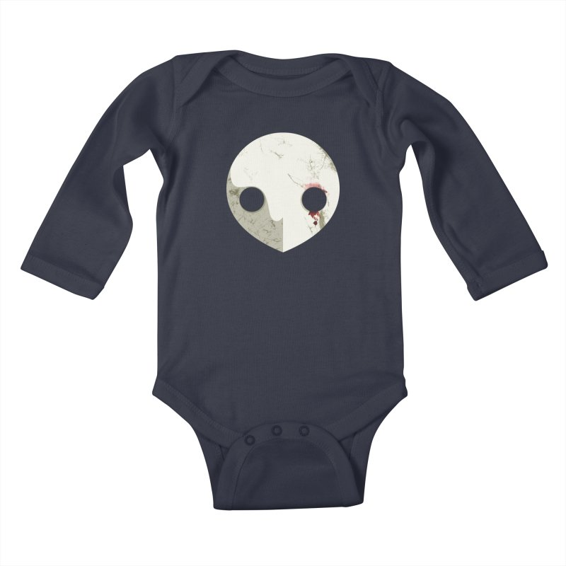 Angel Kids Baby Longsleeve Bodysuit by ayarti's Artist Shop
