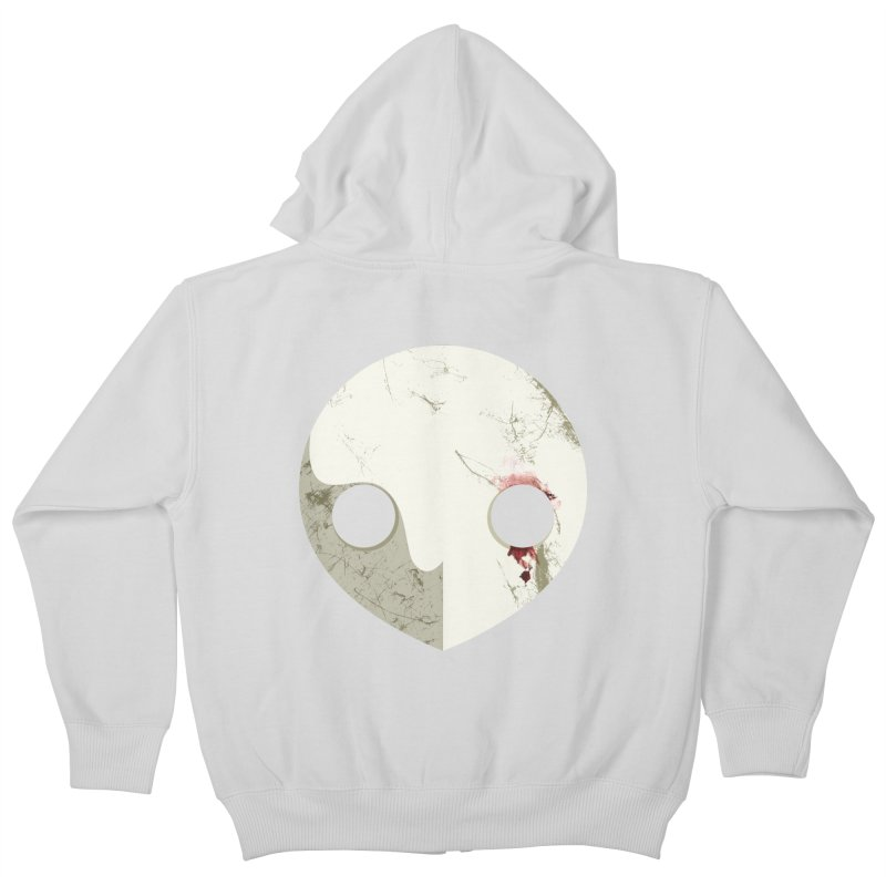 Angel Kids Zip-Up Hoody by ayarti's Artist Shop