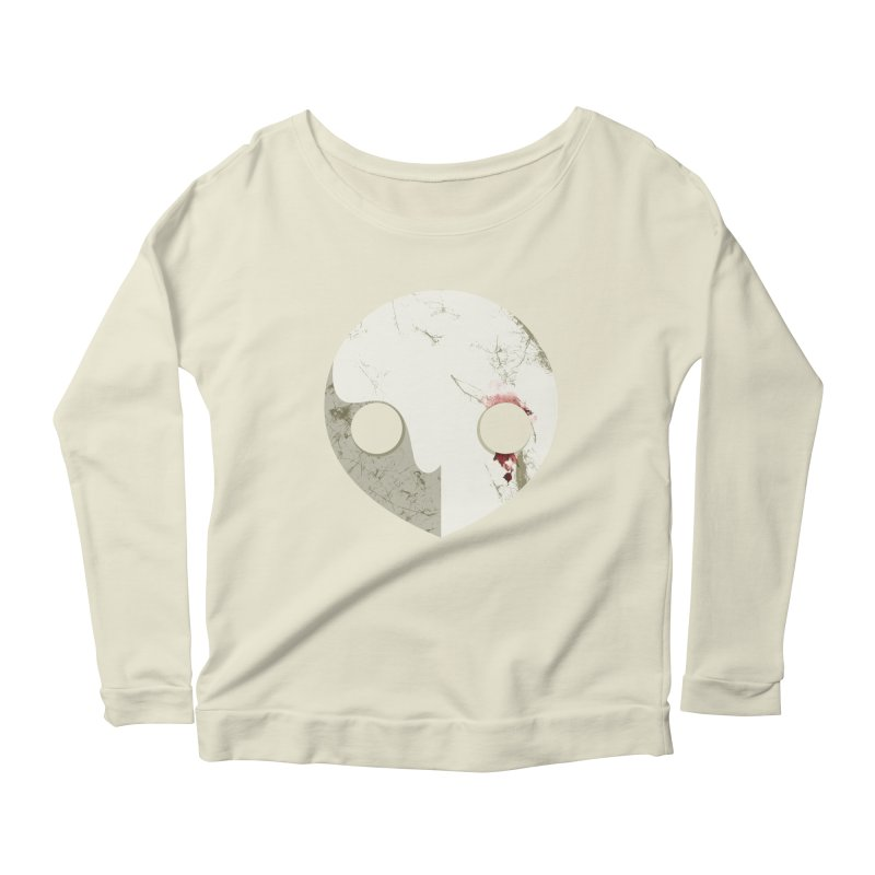 Angel Women's Longsleeve Scoopneck  by ayarti's Artist Shop