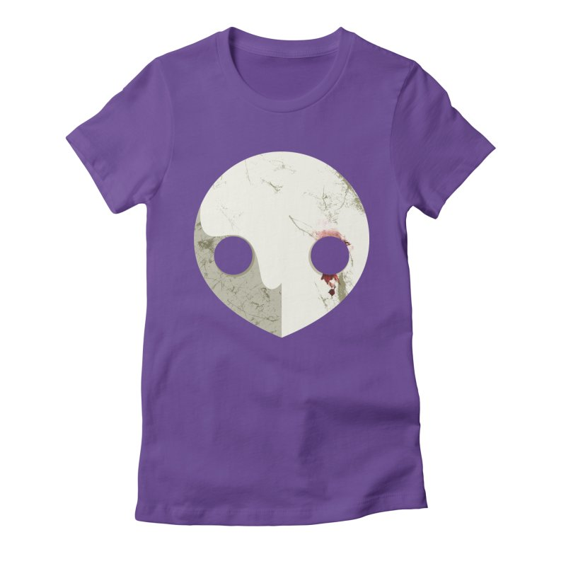 Angel Women's Fitted T-Shirt by ayarti's Artist Shop