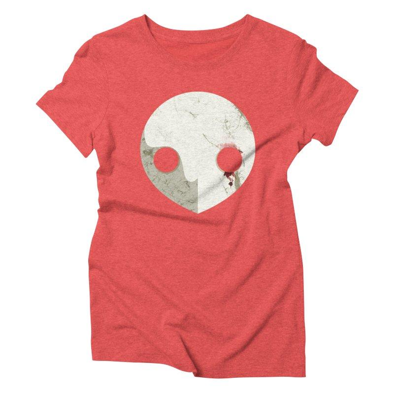 Angel Women's Triblend T-Shirt by ayarti's Artist Shop