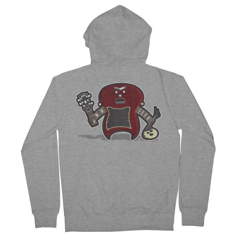 Frankenstein's Guitar Men's Zip-Up Hoody by ayarti's Artist Shop
