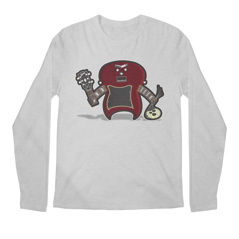 Frankenstein's Guitar Men's Longsleeve T-Shirt by ayarti's Artist Shop