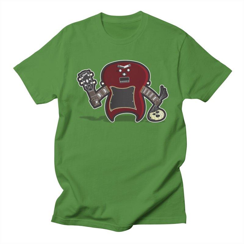 Frankenstein's Guitar Men's T-Shirt by ayarti's Artist Shop