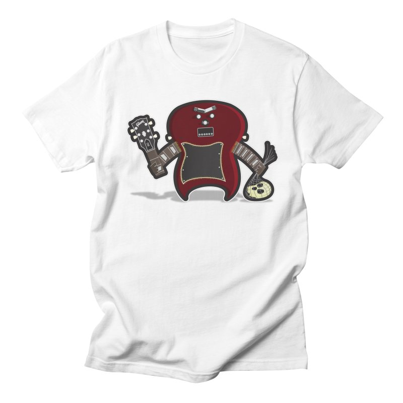 Frankenstein's Guitar Men's T-shirt by ayarti's Artist Shop