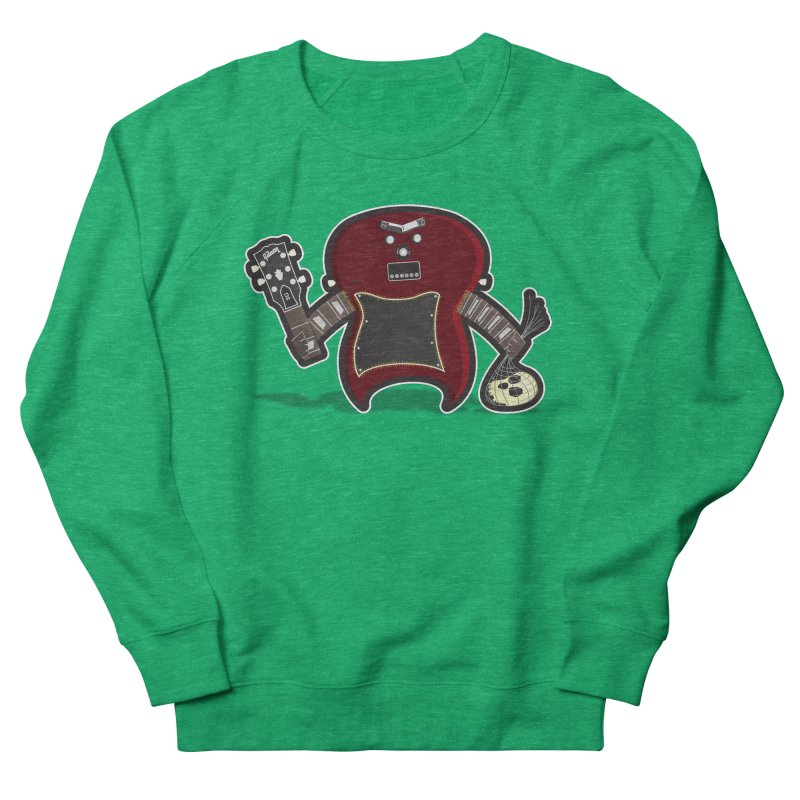 Frankenstein's Guitar Women's Sweatshirt by ayarti's Artist Shop