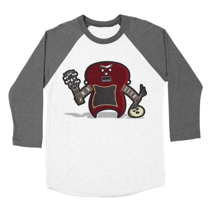 Frankenstein's Guitar Women's Baseball Triblend T-Shirt by ayarti's Artist Shop