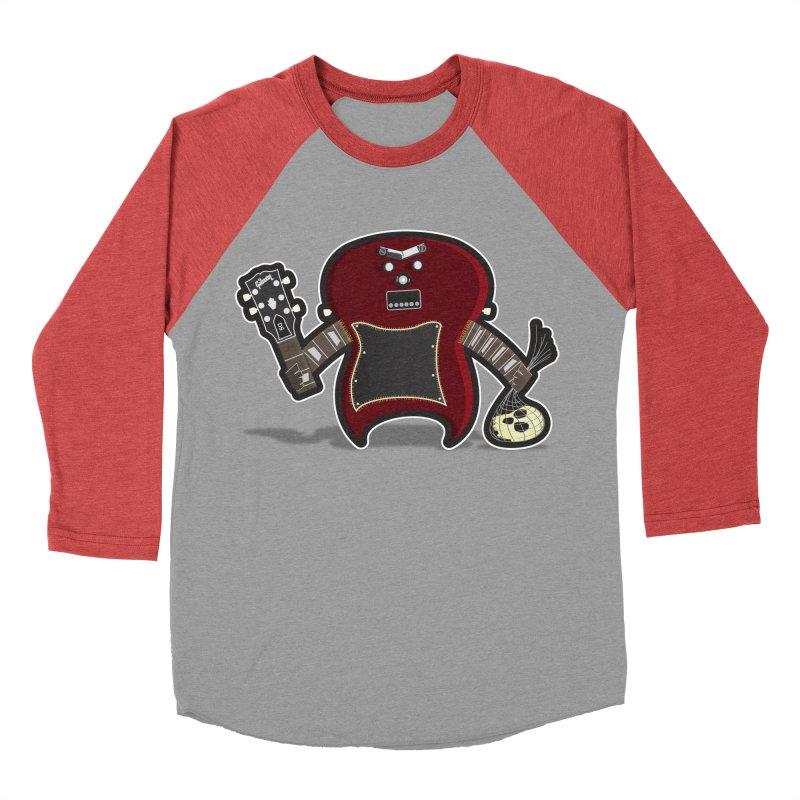 Frankenstein's Guitar Women's Baseball Triblend T-Shirt by ayarti's Artist Shop