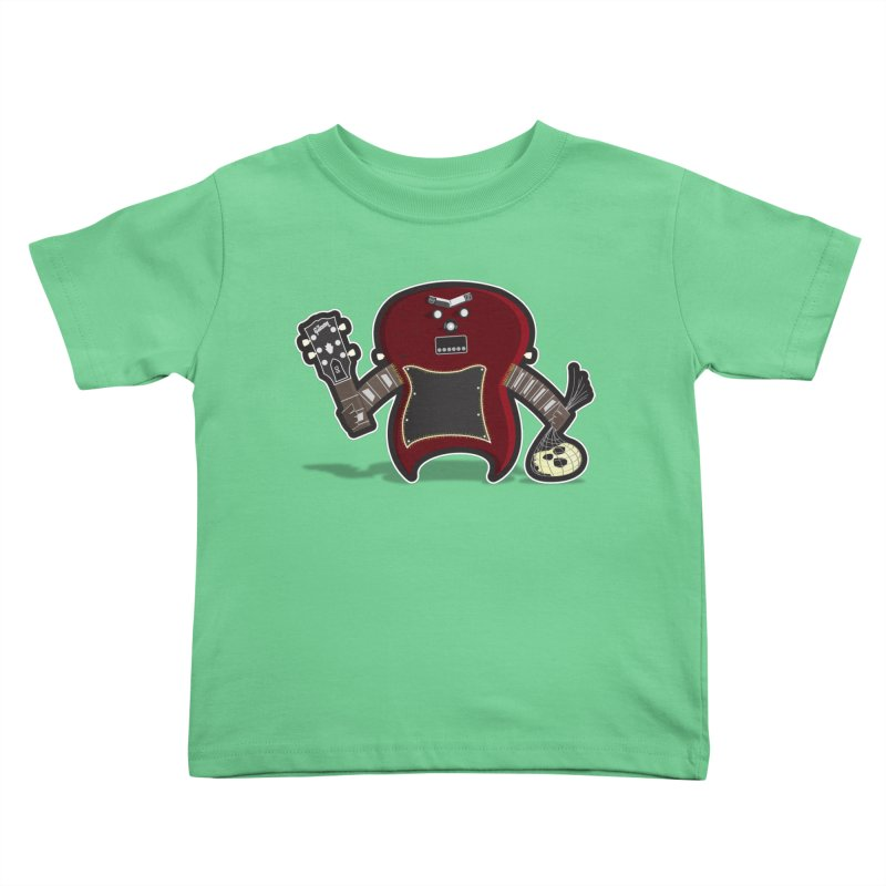 Frankenstein's Guitar Kids Toddler T-Shirt by ayarti's Artist Shop