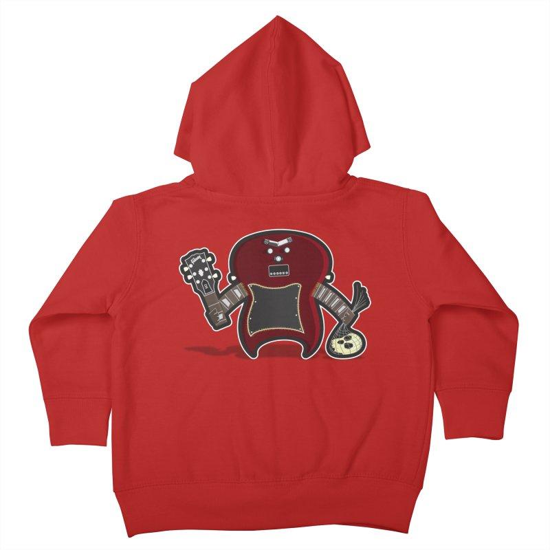 Frankenstein's Guitar Kids Toddler Zip-Up Hoody by ayarti's Artist Shop