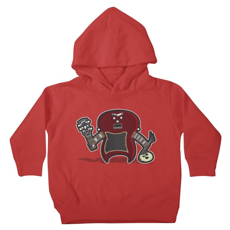 Frankenstein's Guitar Kids Toddler Pullover Hoody by ayarti's Artist Shop