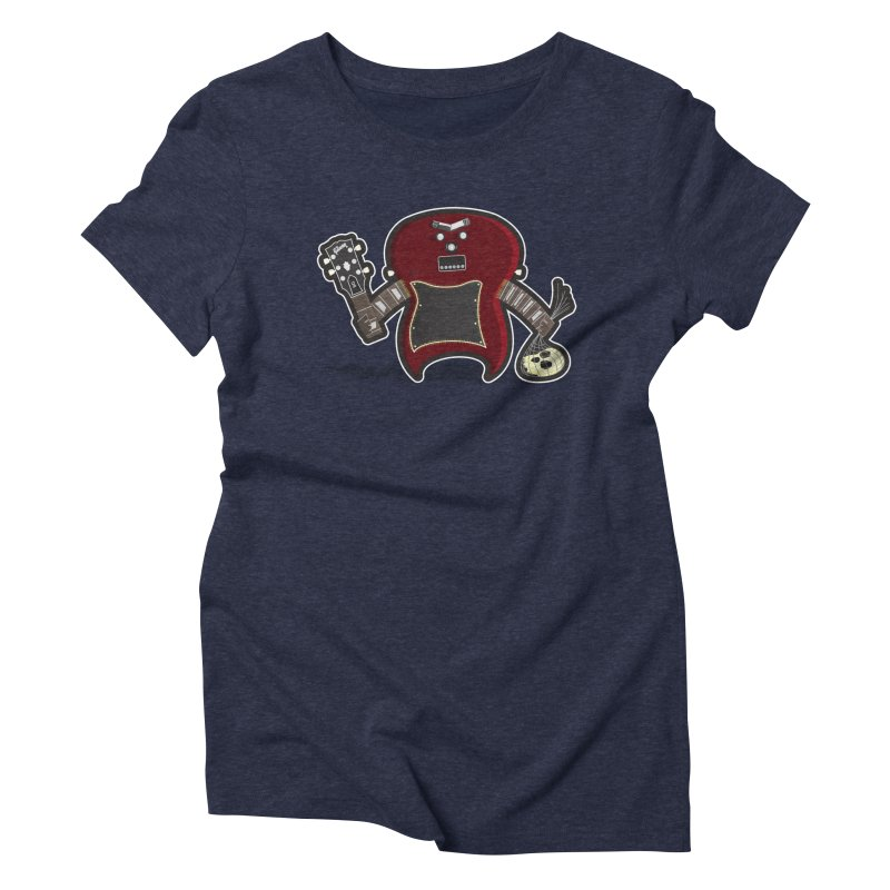 Frankenstein's Guitar Women's Triblend T-Shirt by ayarti's Artist Shop
