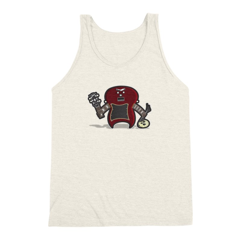 Frankenstein's Guitar Men's Triblend Tank by ayarti's Artist Shop