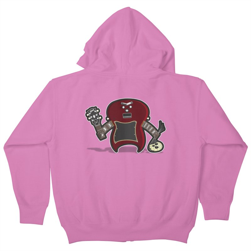 Frankenstein's Guitar Kids Zip-Up Hoody by ayarti's Artist Shop