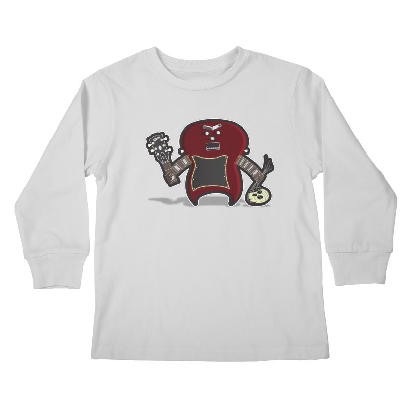 Frankenstein's Guitar Kids Longsleeve T-Shirt by ayarti's Artist Shop