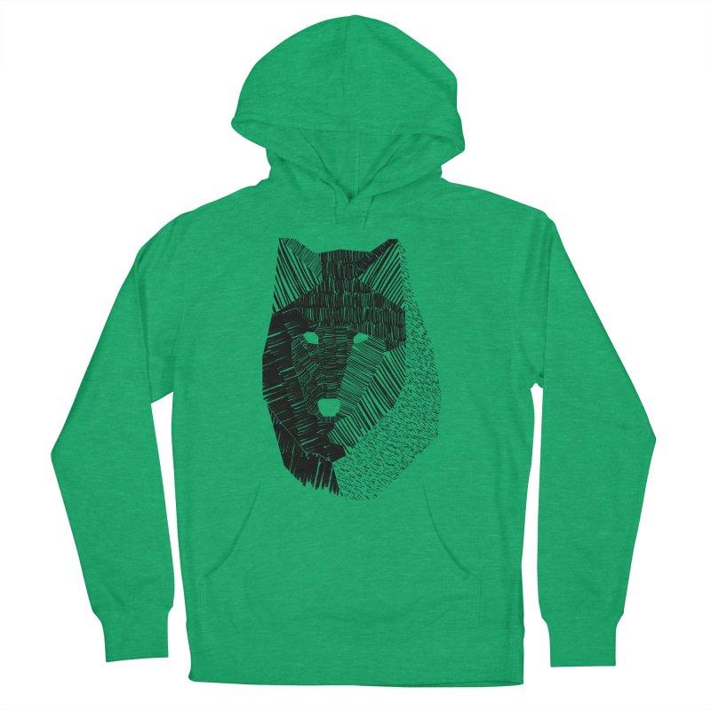 Wolf Mask Women's Pullover Hoody by ayarti's Artist Shop