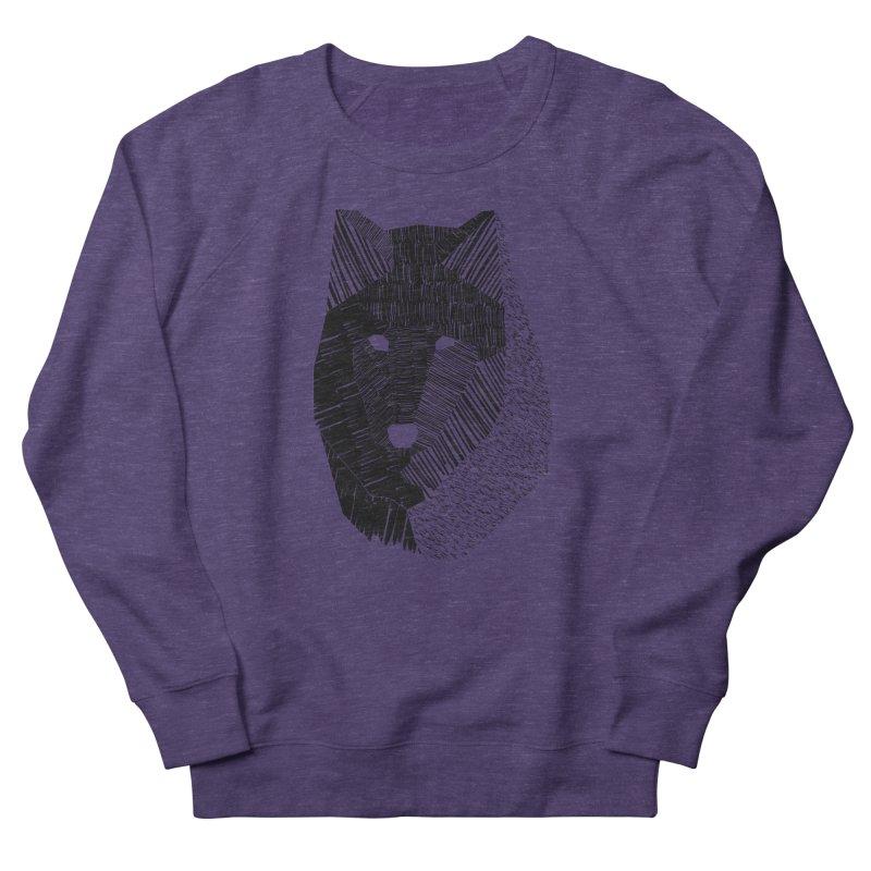 Wolf Mask Men's Sweatshirt by ayarti's Artist Shop