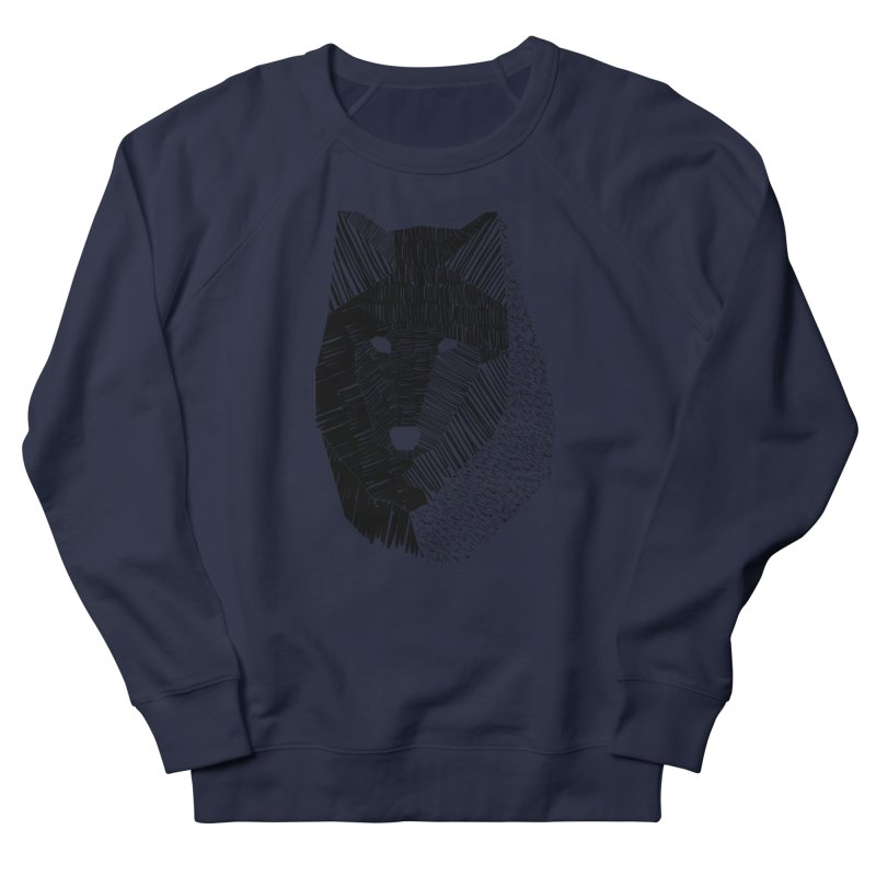 Wolf Mask Men's Sweatshirt by ayarti's Artist Shop