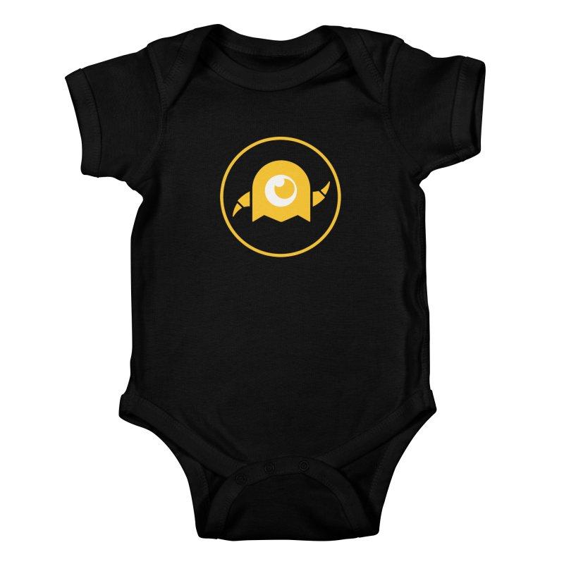 AY Creative Shop Logo Kids Baby Bodysuit by -AY- Creative Shop