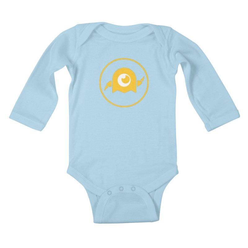 AY Creative Shop Logo Kids Baby Longsleeve Bodysuit by -AY- Creative Shop
