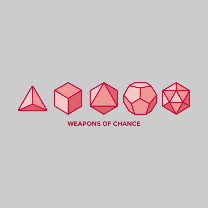 Weapons of Chance Men's T-Shirt by -AY- Creative Shop