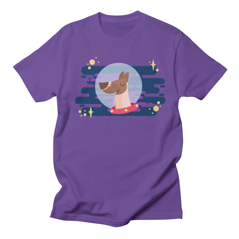 Space Dog Men's Regular T-Shirt by -AY- Creative Shop