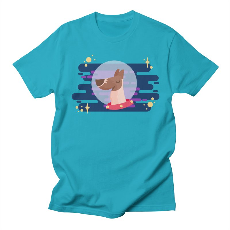 Space Dog Women's Unisex T-Shirt by -AY- Creative Shop