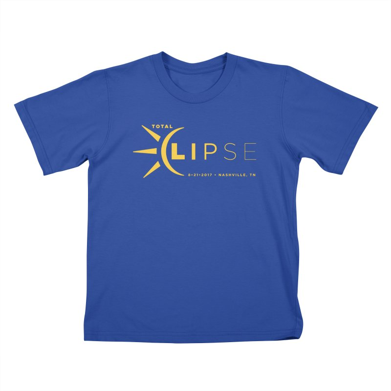 Total Eclipse 2017 Kids T-Shirt by -AY- Creative Shop