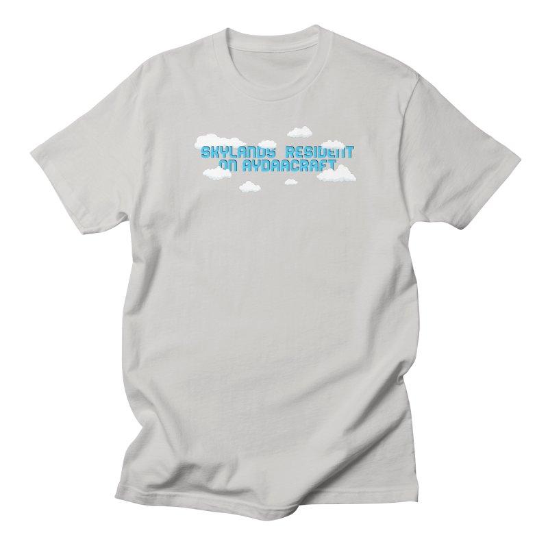 SkyLands Resident Men's T-Shirt by AydaaCraft's Merch Store