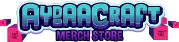 AydaaCraft's Merch Store Logo