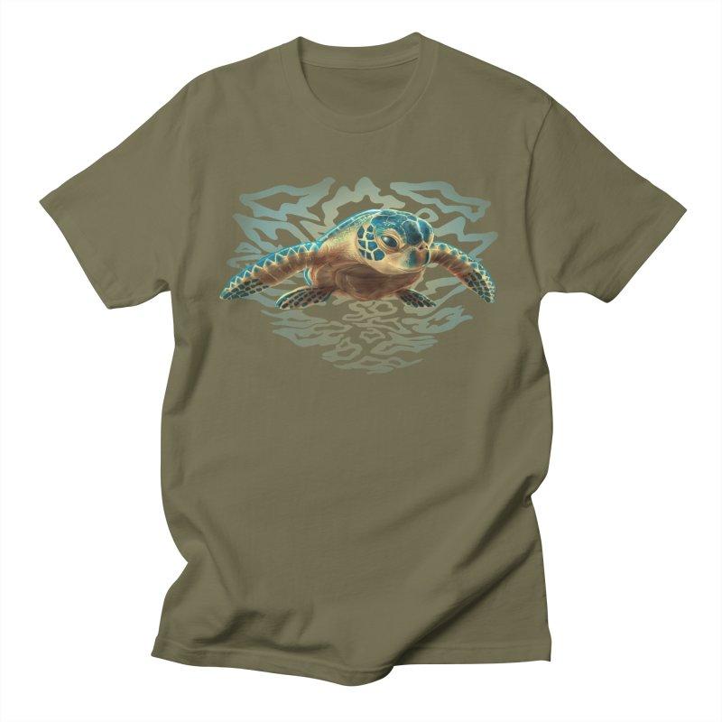 Sea Turtle Men's T-Shirt by Ayota Illustration Shop