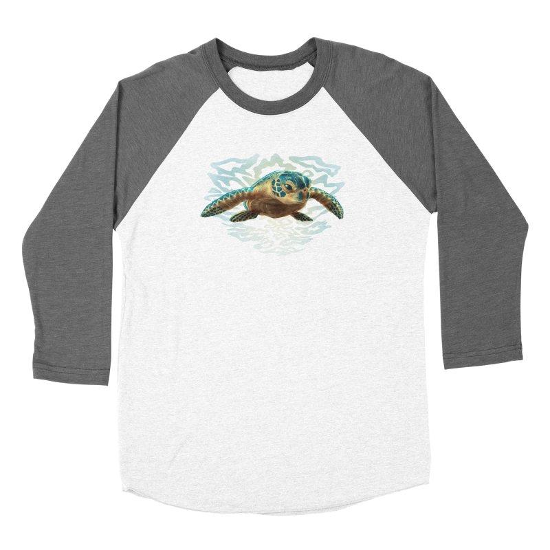 Sea Turtle Women's Longsleeve T-Shirt by Ayota Illustration Shop