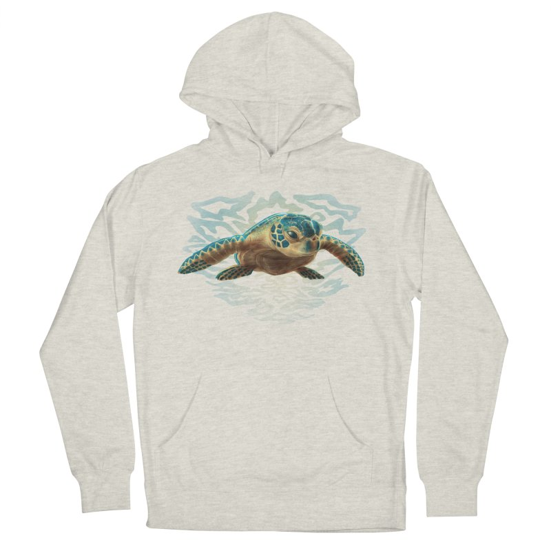 Sea Turtle Men's Pullover Hoody by Ayota Illustration Shop