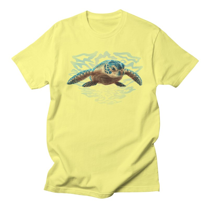 Sea Turtle Men's T-Shirt by Ayota Illustration Shop