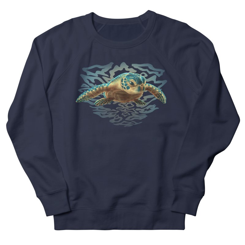 Sea Turtle Men's Sweatshirt by Ayota Illustration Shop