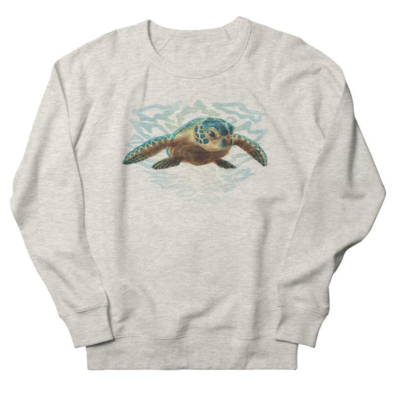 Sea Turtle Men's Sweatshirt by Ayota Illustration Shop