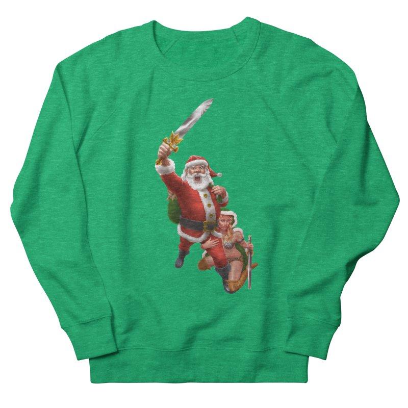 Santa and Mrs Claus  Women's Sweatshirt by Ayota Illustration Shop