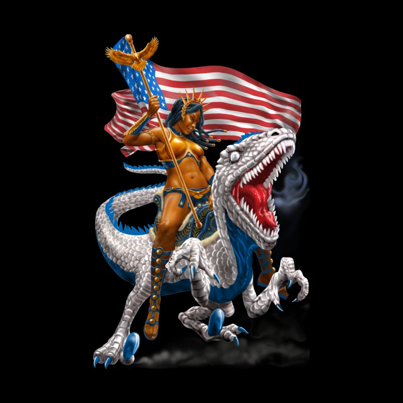 Liberty Patriosaur None  by Ayota Illustration Shop