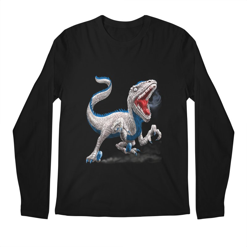 Patriosaur Men's Regular Longsleeve T-Shirt by Ayota Illustration Shop