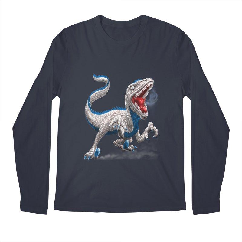 Patriosaur Men's Longsleeve T-Shirt by Ayota Illustration Shop