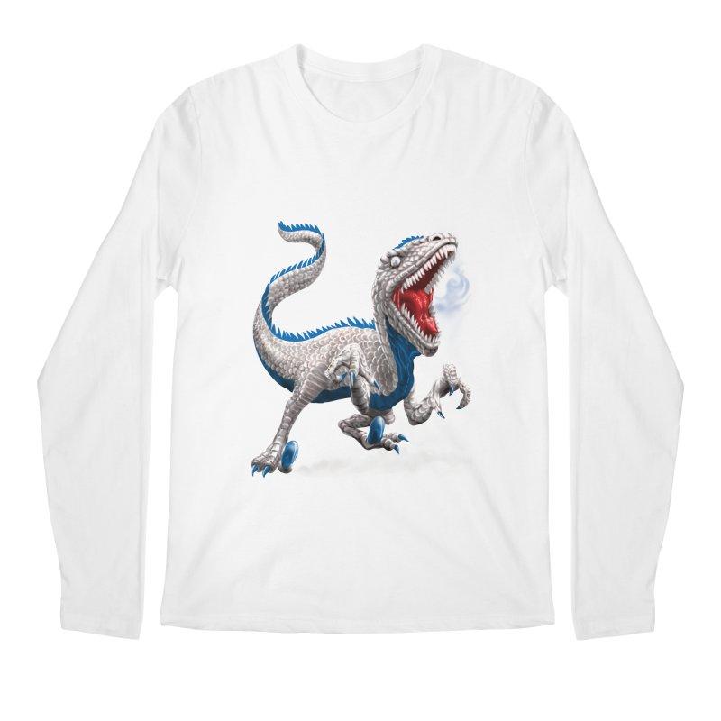 Patriosaur Men's Regular Longsleeve T-Shirt by Ayota Illustration Shop