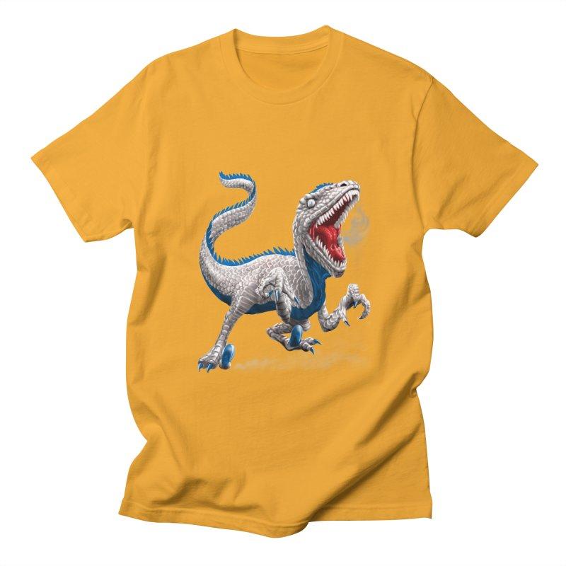 Patriosaur Men's Regular T-Shirt by Ayota Illustration Shop