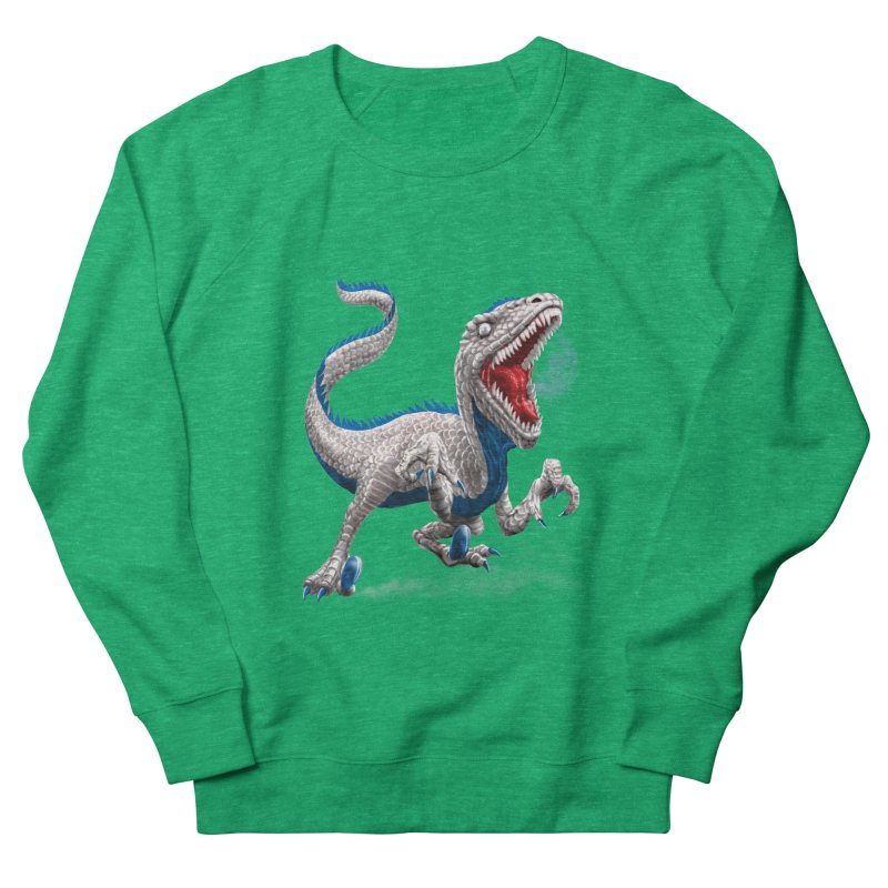 Patriosaur Men's Sweatshirt by Ayota Illustration Shop