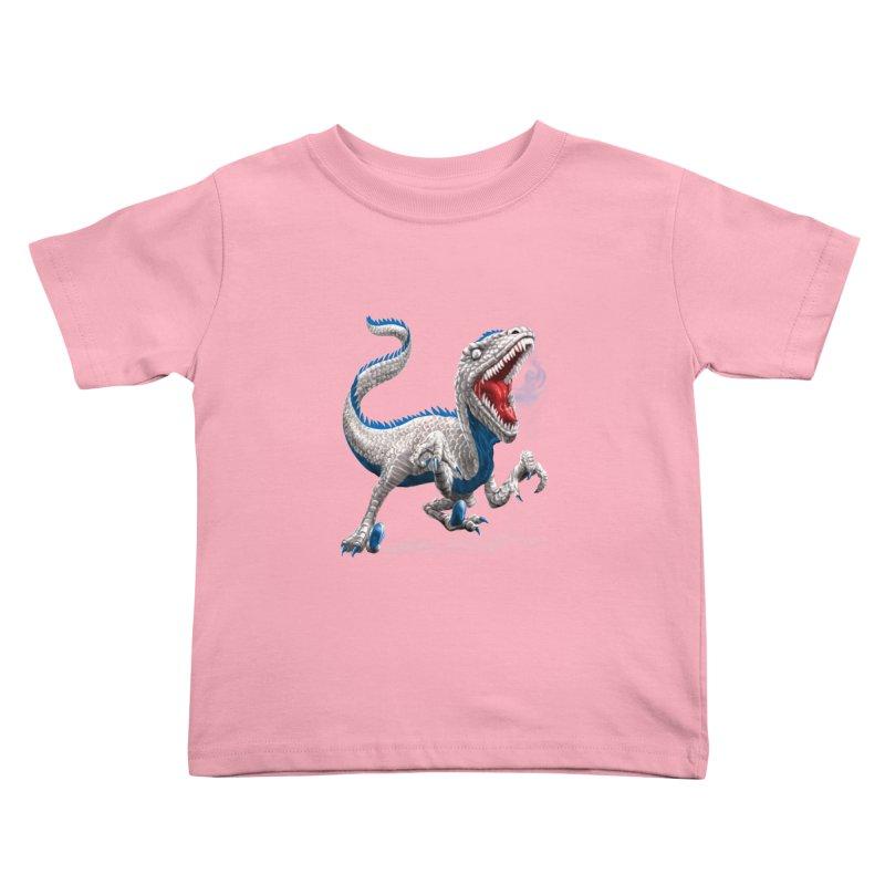 Patriosaur Kids Toddler T-Shirt by Ayota Illustration Shop